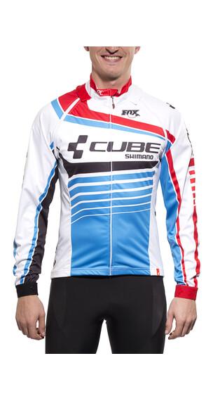 Cube Teamline Jas Heren blauw/wit